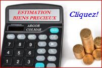 Calculette tarifs Rachat Or Argor-Colmar