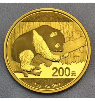 Pièce Or 15g Panda (Chine) ph1