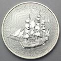 Pièce argent Îles Cook Bounty 1 once