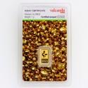 lingotin Or 1g Valcambi Green Gold