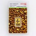 lingotin Or 2.5g Valcambi Green Gold