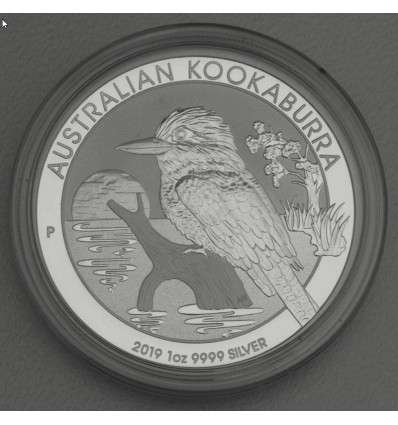 Pièce Argent Kookaburra 1 once (2019) b