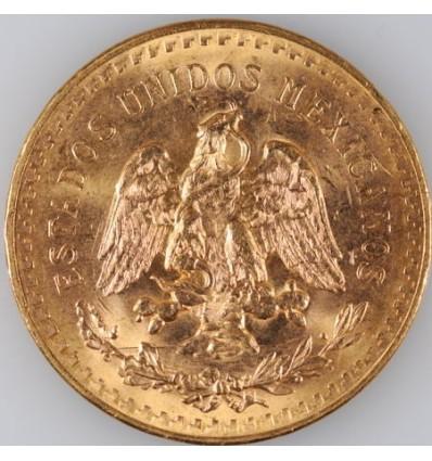 Pièce de monnaie Or 50 Pesos Centenario avers