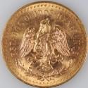 Pièce Or 50 Pesos Centenario (37.5g d'Or)