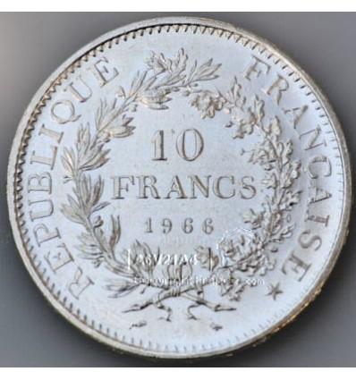pièce de monnaie Hercule 10 Francs Revers