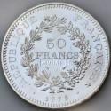 Pièce Hercule 50 Francs (27g d'Argent)