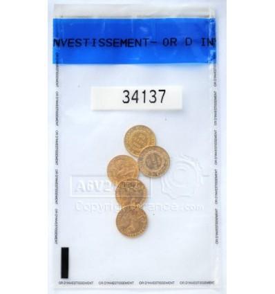 pochette Or d'investissement pièces d'Or