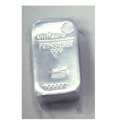 lingot métal Argent 500g