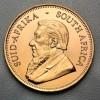 Krugerrand un demi once pochette sécurisée
