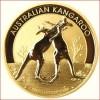 demi once Or Australienne Nugget Kangaroo