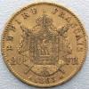 Pièce Or 20 Francs Napoléon v