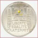 Pièce 20 Frs TURIN (13.6g d'argent)