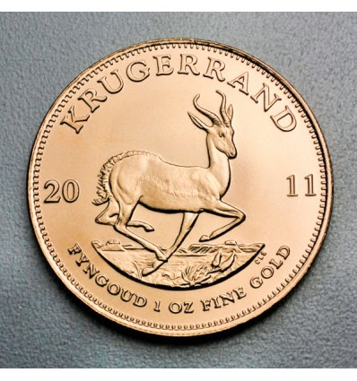 Pièce Or Krugerrand 1 once revers