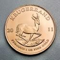Pièce Or Krugerrand 1 once (millésimes divers)