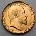 Pièce de monnaie Or souverain