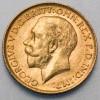 Pièce de monnaie Or souverain Georges V