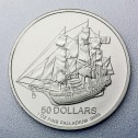 Pièce  Cook Islands Bounty Palladium once revers