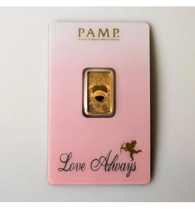 lingotin Or 5g Love Always (Pamp) recto