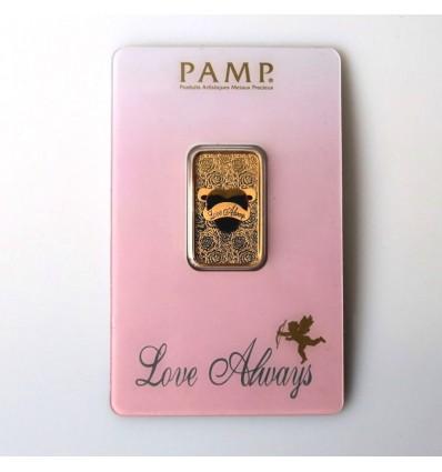 lingotin Or 10g Love Always (Pamp) ph1