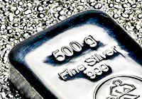 Lingot Argent 500g