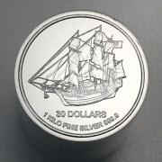 Pièce argent 999.9 Bounty Îles Cook 1Kg