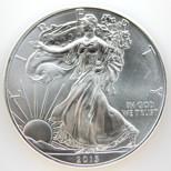 Silver Liberty eagle