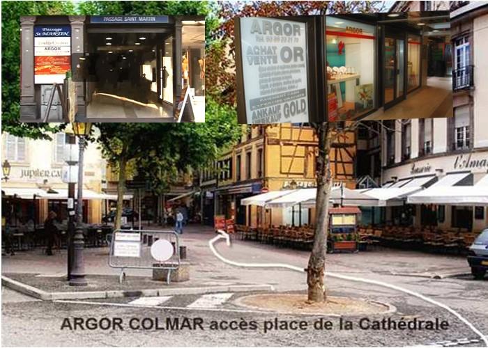acces bijouterie le Marche d or Colmar